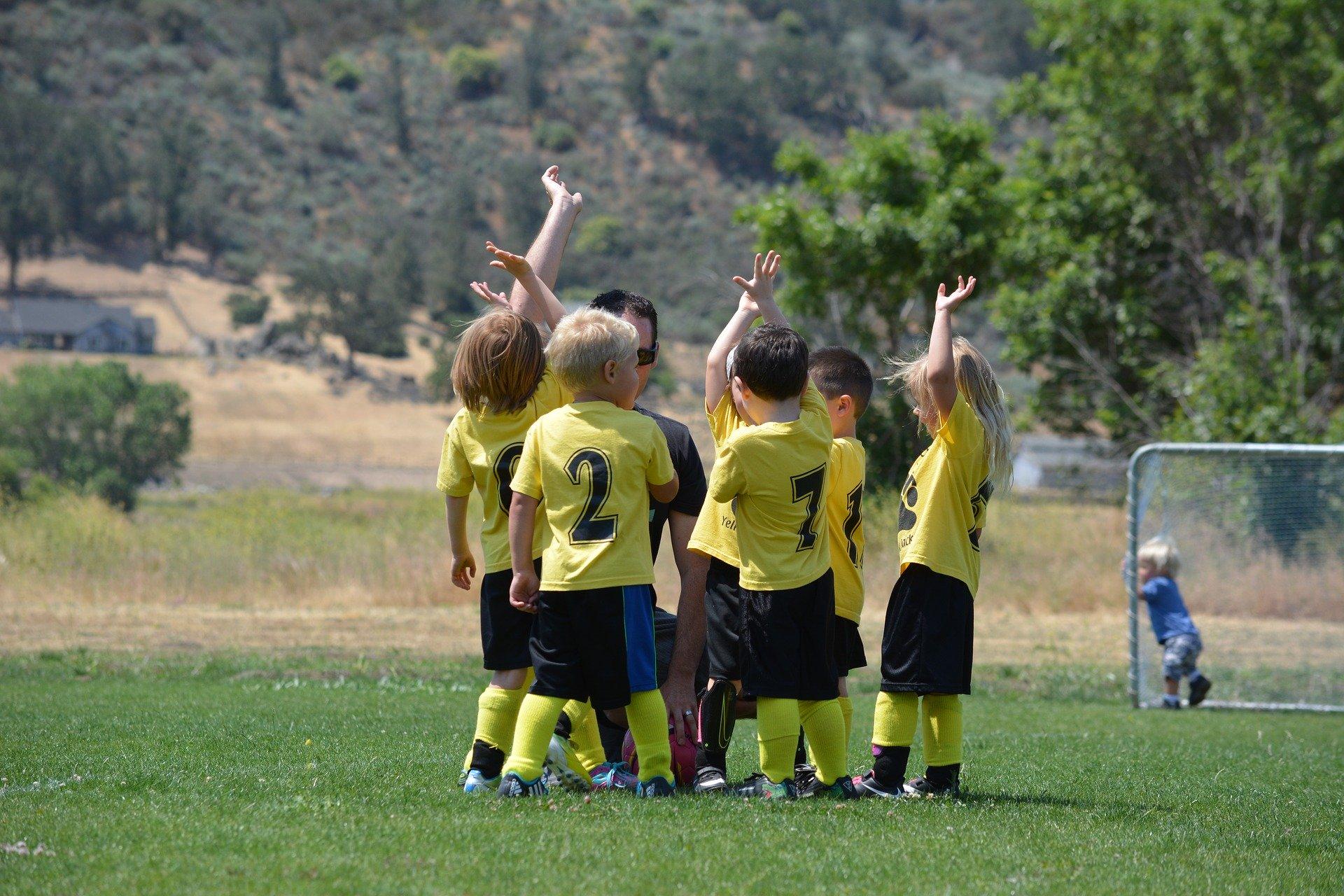 fotboll barn